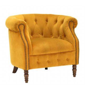 An Image of Ollena Velvet Chair