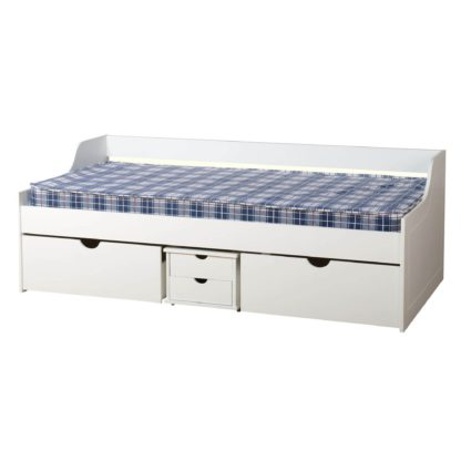 An Image of Dante White Day Bed White