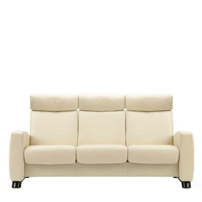 An Image of Stressless Arion High Back 3 Seater