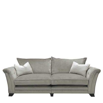 An Image of Dorsey Standard Back 4 Seater Split Frame Sofa
