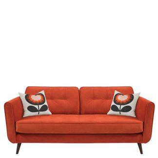 An Image of Orla Kiely Ivy Large Sofa