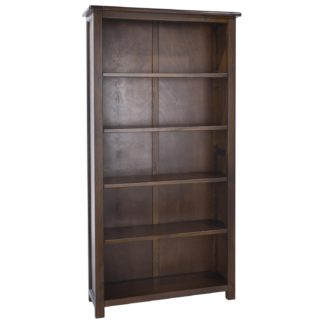 An Image of Boston Tall Bookcase Brown