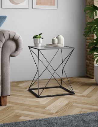 An Image of M&S Star Geometric Side Table
