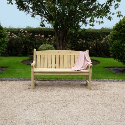 An Image of Timber Cotswold 5Ft Bench Natural