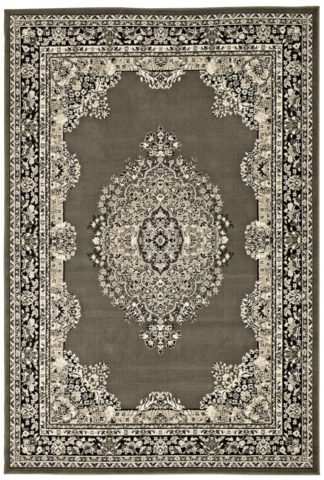 An Image of Homemaker Bukhura Traditional Rug - 200x290cm - Grey