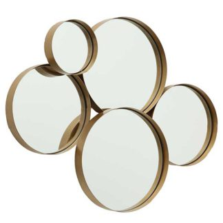 An Image of Brass Cluster Mirror
