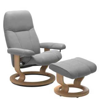An Image of Consul Large Classic Chair and Stool Quickship