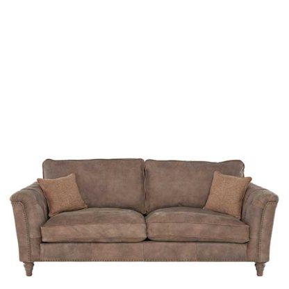 An Image of Darwin Large Leather Sofa