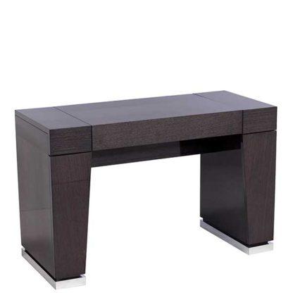 An Image of Borgia Dressing Table Grey High Gloss