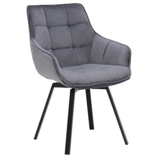 An Image of Jasper Dining Chair Grey