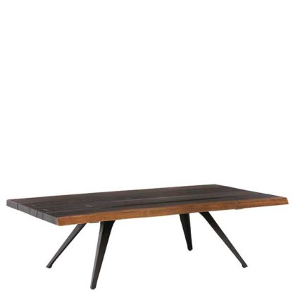 An Image of Vega Solid Oak Coffee Table