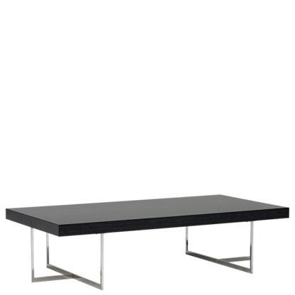 An Image of Borgia Rectangular Coffee Table Grey Highgloss