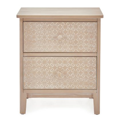 An Image of Ivy Bedside Table Brown
