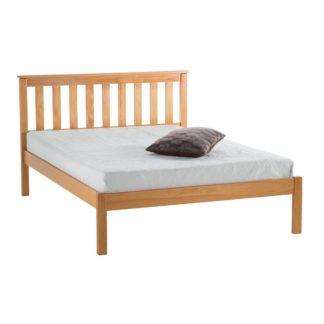 An Image of Denver Low End Bed Frame Brown