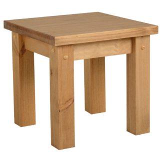 An Image of Tortilla Lamp Table Natural
