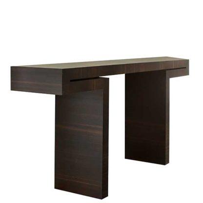 An Image of Porada Miyabi Console Table Spessart Oak