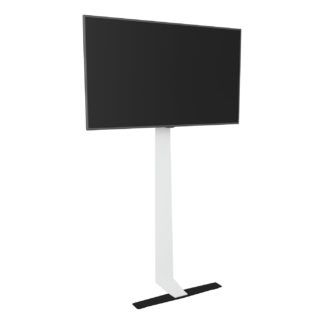 An Image of AVF Against the Wall Up To 80 Inch Standing TV Mount