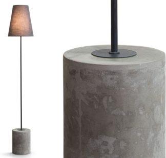 An Image of Ira Floor Lamp, Harrier Grey
