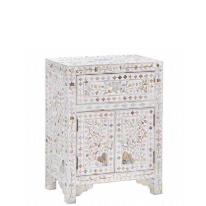An Image of Clipper Side Table Mother Of Pearl