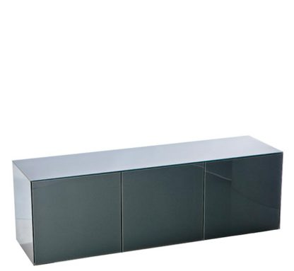 An Image of Express Delivery Intelligent Concept 150cm High Gloss 3 Door TV Unit