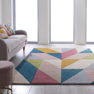 An Image of Metro Rug MultiColoured