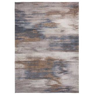 An Image of Atlantic Monetti Grey Impression Rug