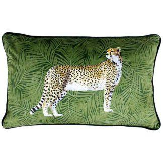 An Image of Cheetah Cushion