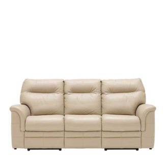 An Image of Parker Knoll Hudson 3 Seater Recliner Sofa Leather