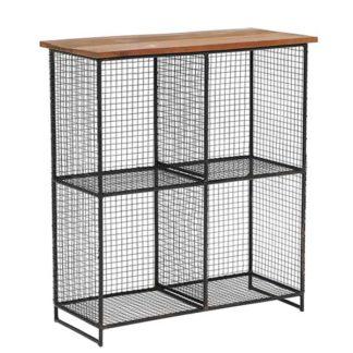 An Image of Little Tree Furniture Layla 4 Shelf Storage Unit