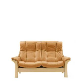 An Image of Stressless Buckingham High Back 2 Seater Choice of Leather