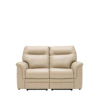 An Image of Parker Knoll Hudson 2 Seater Recliner Sofa Leather