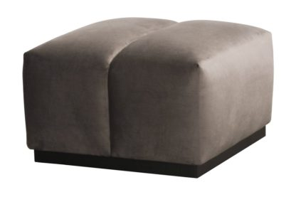 An Image of Herbie Footstool - Carbon
