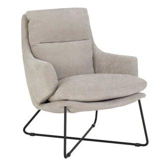 An Image of Riley Velvet Armchair
