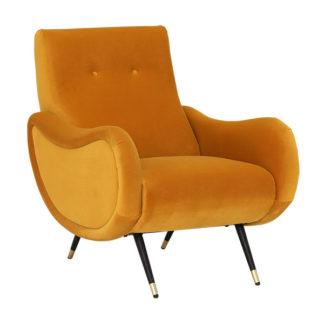 An Image of Oriole Velvet Chair