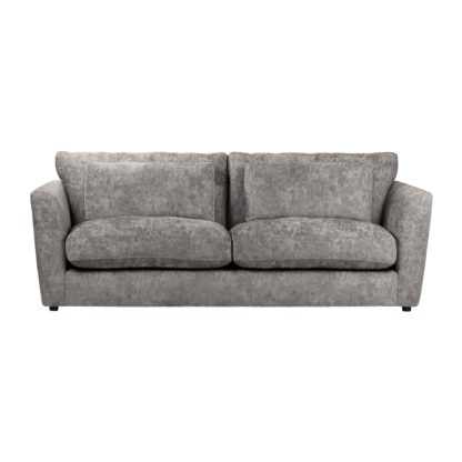 An Image of Esther Chenille 3 Seater Sofa Mink