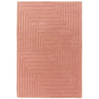 An Image of Form Rug Pink