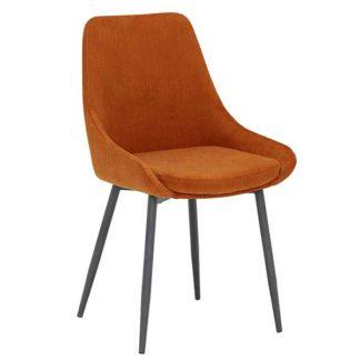 An Image of Emmett Dining Chair Orange