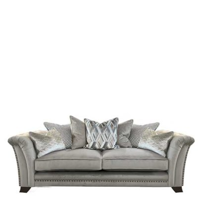 An Image of Dorsey Pillow Back 3 Seater Sofa