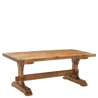 An Image of Covington Reclaimed Wood Dining Table