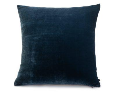 An Image of Habitat Regency Plain Cushion - Blue