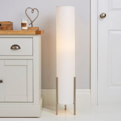 An Image of Bailey Floor Lamp White
