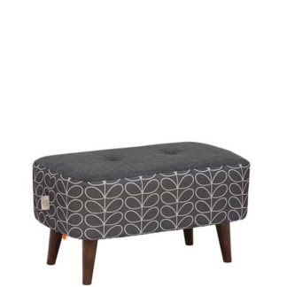 An Image of Orla Kiely Donegal Small Footstool