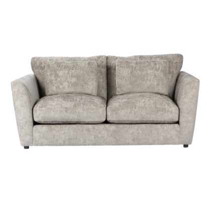 An Image of Esther Chenille 2 Seater Sofa Mink