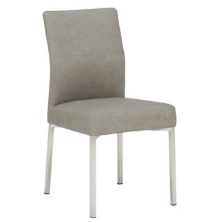An Image of Leo Dining Chair Grey