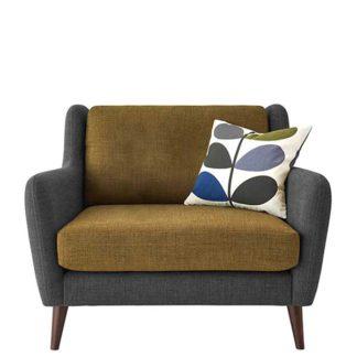 An Image of Orla Kiely Fern Snuggle Chair