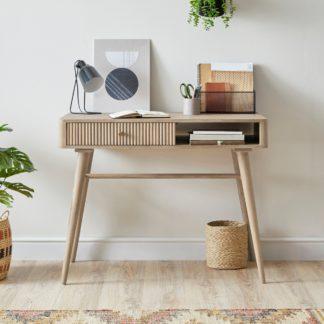 An Image of Priya Desk Wood (Brown)