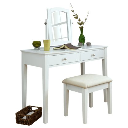 An Image of Hattie Dressing Table Set Grey
