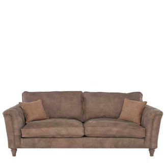 An Image of Darwin Extra Large Leather Sofa