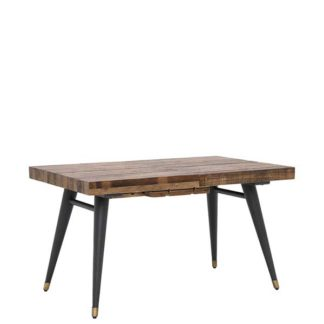 An Image of Modi Reclaimed Wood Extending Dining Table