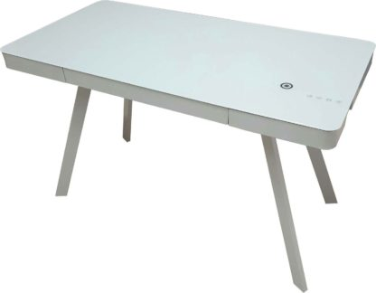 An Image of Koble Silas Bluetooth Desk with wireless charging capability